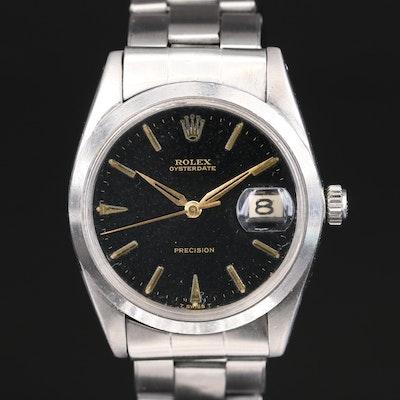 1964 Rolex Oysterdate Wristwatch