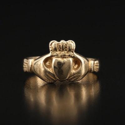 14K Claddagh Ring