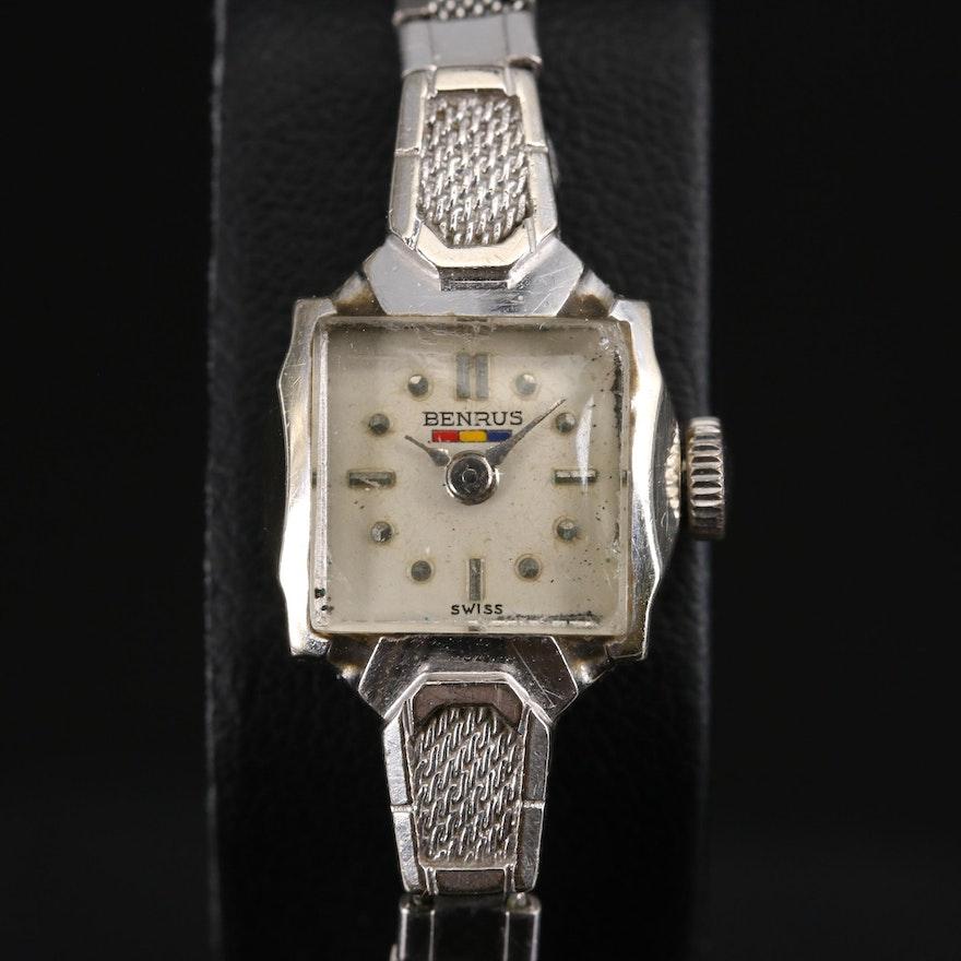 "Benrus ""Citation"" 14K Wristwatch"