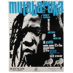 Mutabaruka and the Sounds of Resistance Concert Poster, 1990s