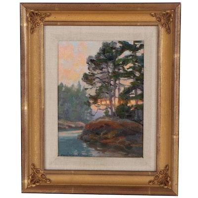 "Kevin MacPherson Oil Painting ""Morning Whisper"""