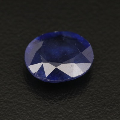 Loose Oval Faceted Corundum