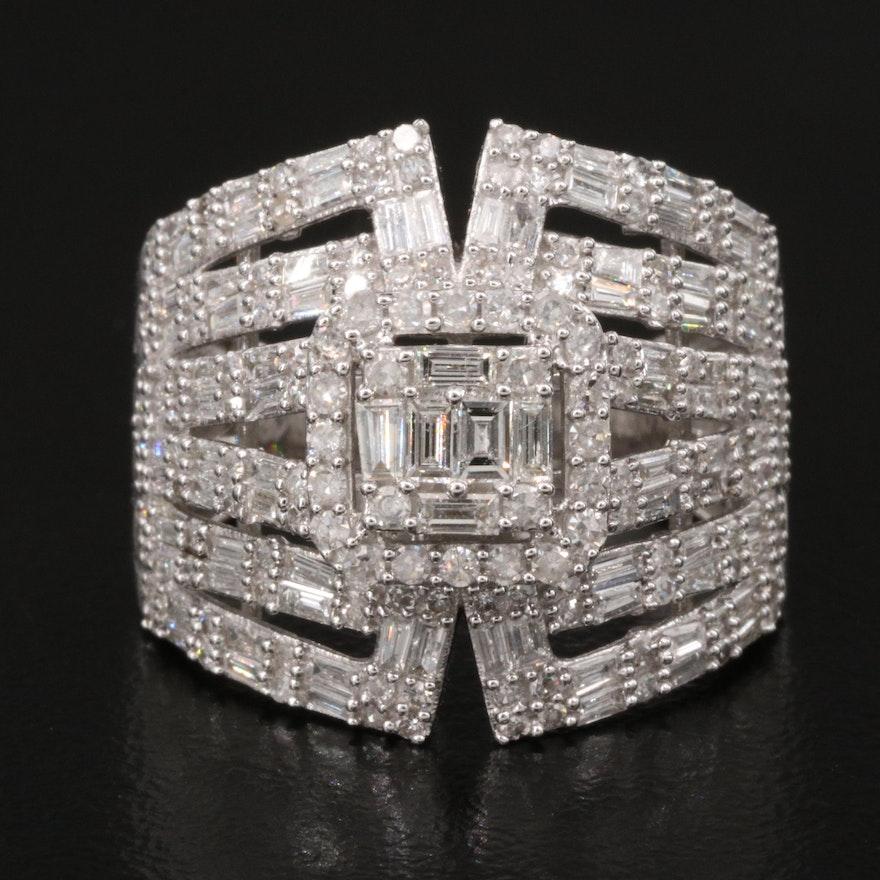 14K 1.54 CTW Diamond Openwork Ring