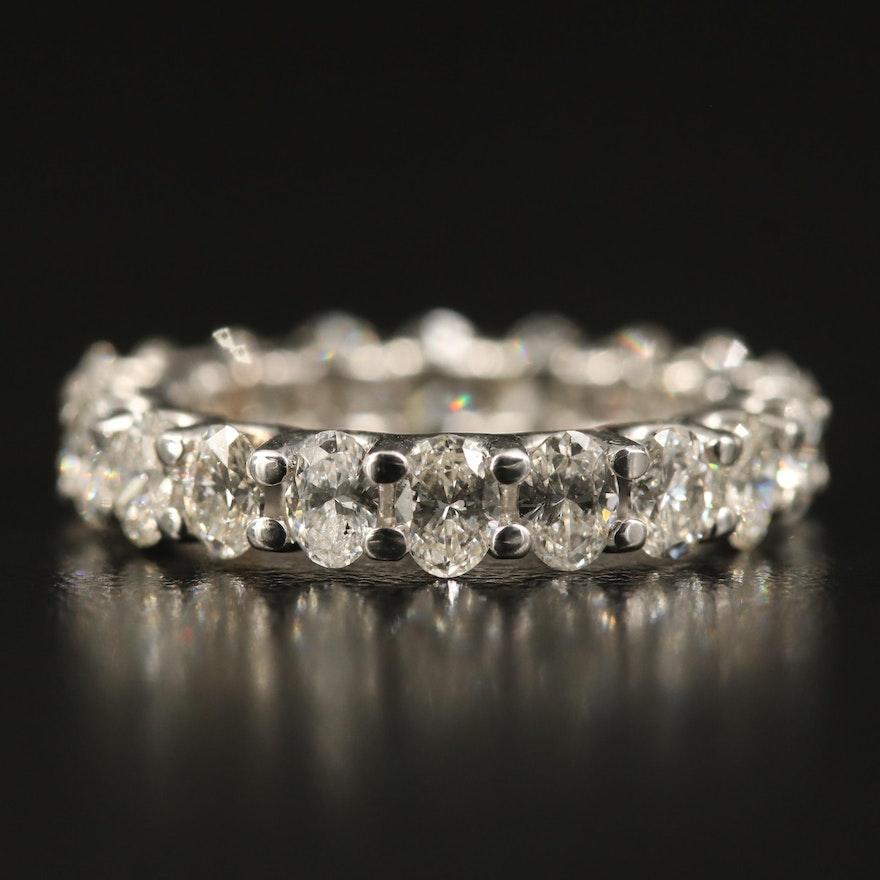 14K 2.90 CTW Diamond Eternity Band