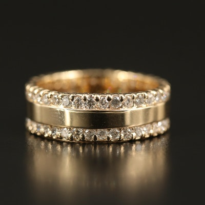 EFFY 14K 1.57 CTW Diamond Eternity Band