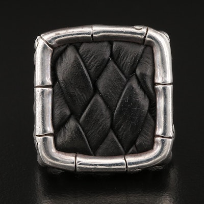 John Hardy Ring with Bamboo Design
