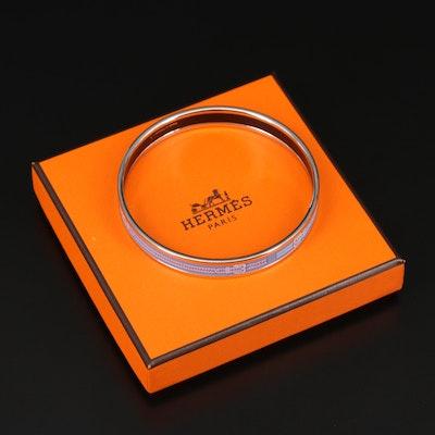 Hermès Buckle Enamel Bangle