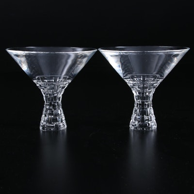 "Nachtmann ""Punk"" Crystal Martini Glasses, 2017"
