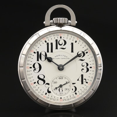 1964 Hamilton Railway Special Pocket Watch