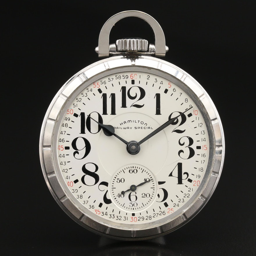 1964 Hamilton Railway Special Pocket Watch