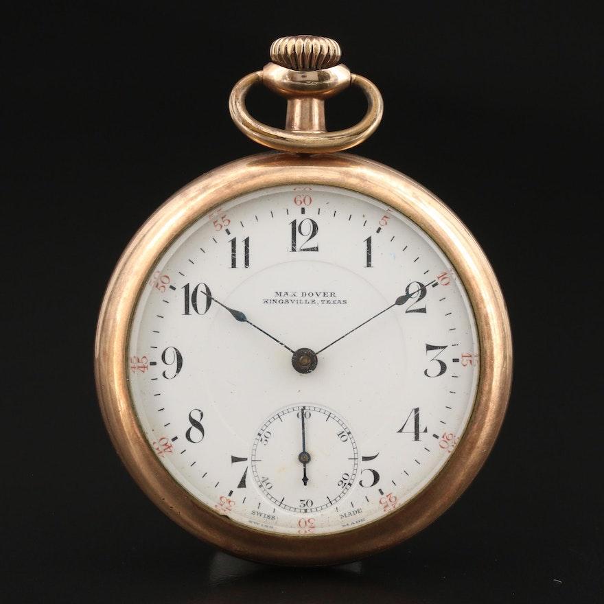Omega Pocket Watch for Max Dover Kingsville, Texas
