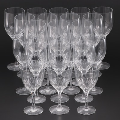 "Orrefors ""Prelude"" and Seneca Crystal Wine Glasses, Mid to Late 20th Century"