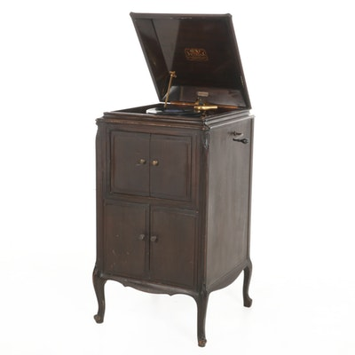 "Victor Talking Machine Co. ""VV-107"" Cabinet Victrola, c. 1924"