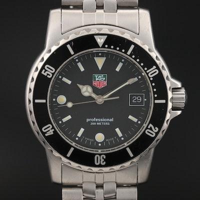 TAG Heuer 1500 Series, 200 Meters Stainless Steel Wristwatch