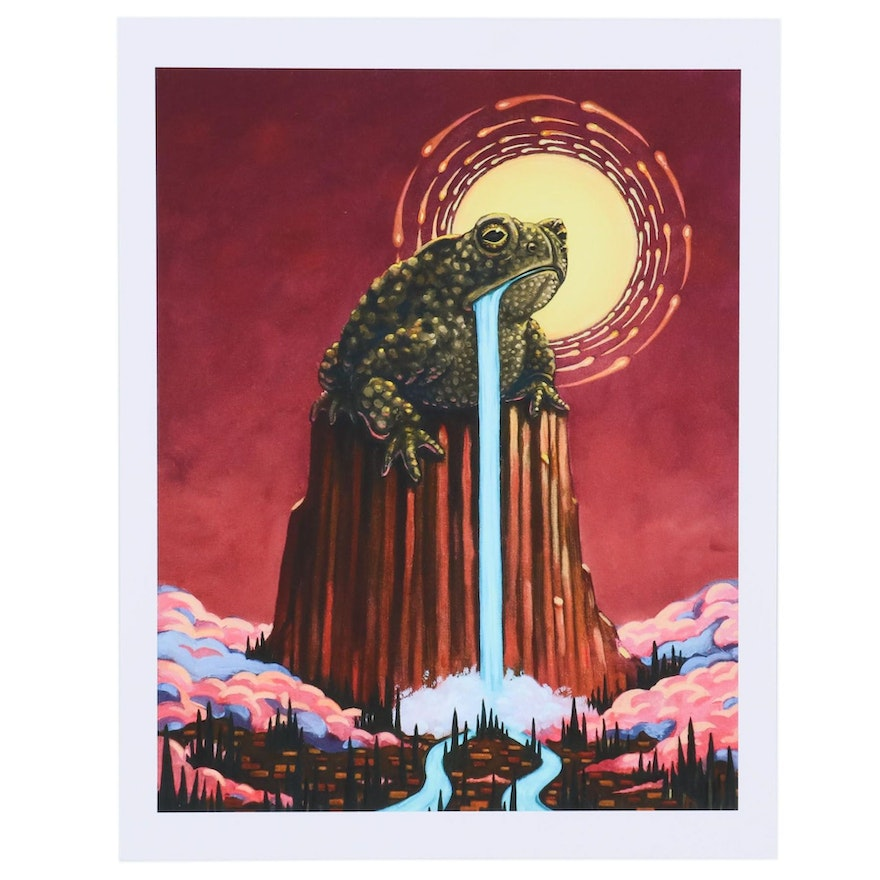 """Giclée after Johnny Acurso """"The Lost Prince of Wyoming"""""""
