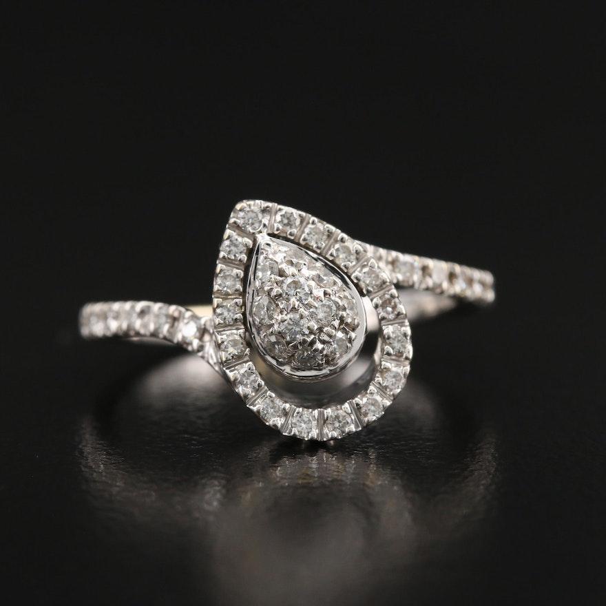 Leo Pizzo 18K Diamond Ring