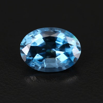 Loose 10.06 CT London Blue Topaz