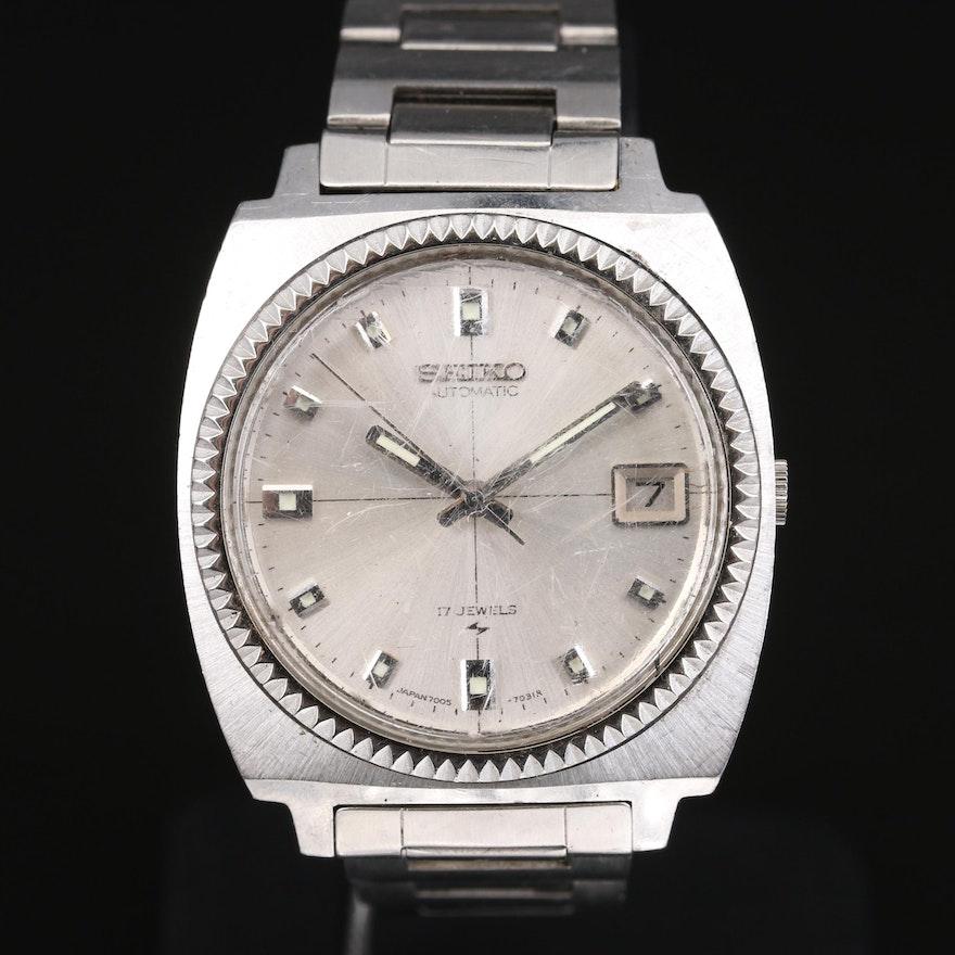 Vintage Seiko Automatic Day/Date Wristwatch