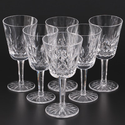 """Waterford """"Lismore"""" Crystal White Wine Glasses and More"""