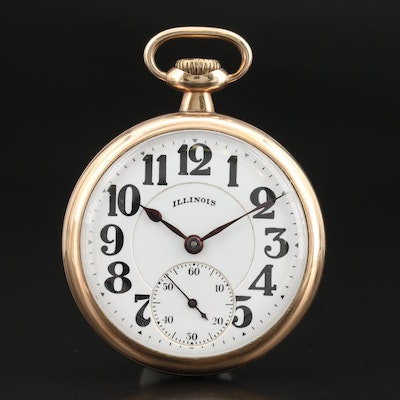 1921 Illinois Bunn Special Pocket Watch