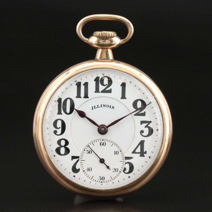 1921 Illinois Bunn Special Pocket Watch