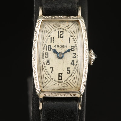 Vintage Gruen Gold Filled Wristwatch