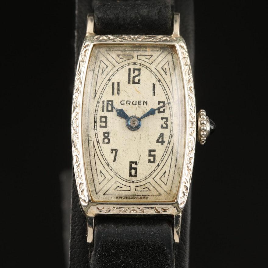 Vintage Gruen Gold Filled Wristwatch