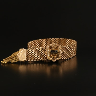 Mid Victorian Slide Mesh Bracelet