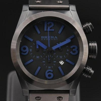 Brera Orologi Eterno Chronograph Stainless Steel Quartz Wristwatch