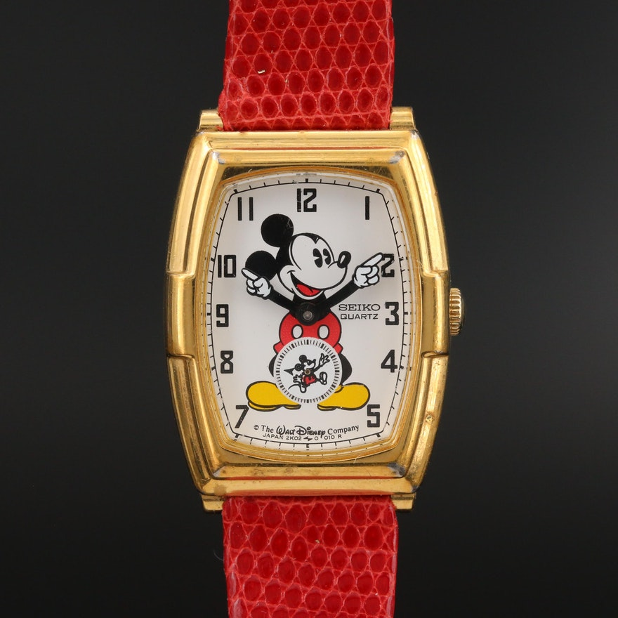 Mickey Mouse Seiko Quartz Wristwatch