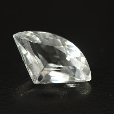 Loose 2.99 CT Sail Faceted Aquamarine