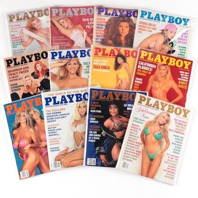 """Playboy"" Magazines Featuring La Toya Jackson and More, 1991"