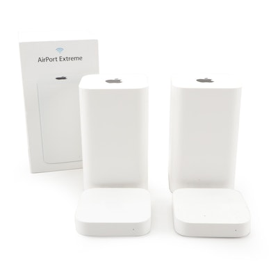Apple AirPort Express and Extreme Wi-Fi Base Stations