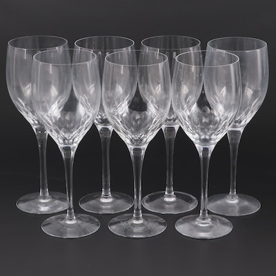 "Orrefors ""Prelude Clear"" Oversize Crystal Goblets"