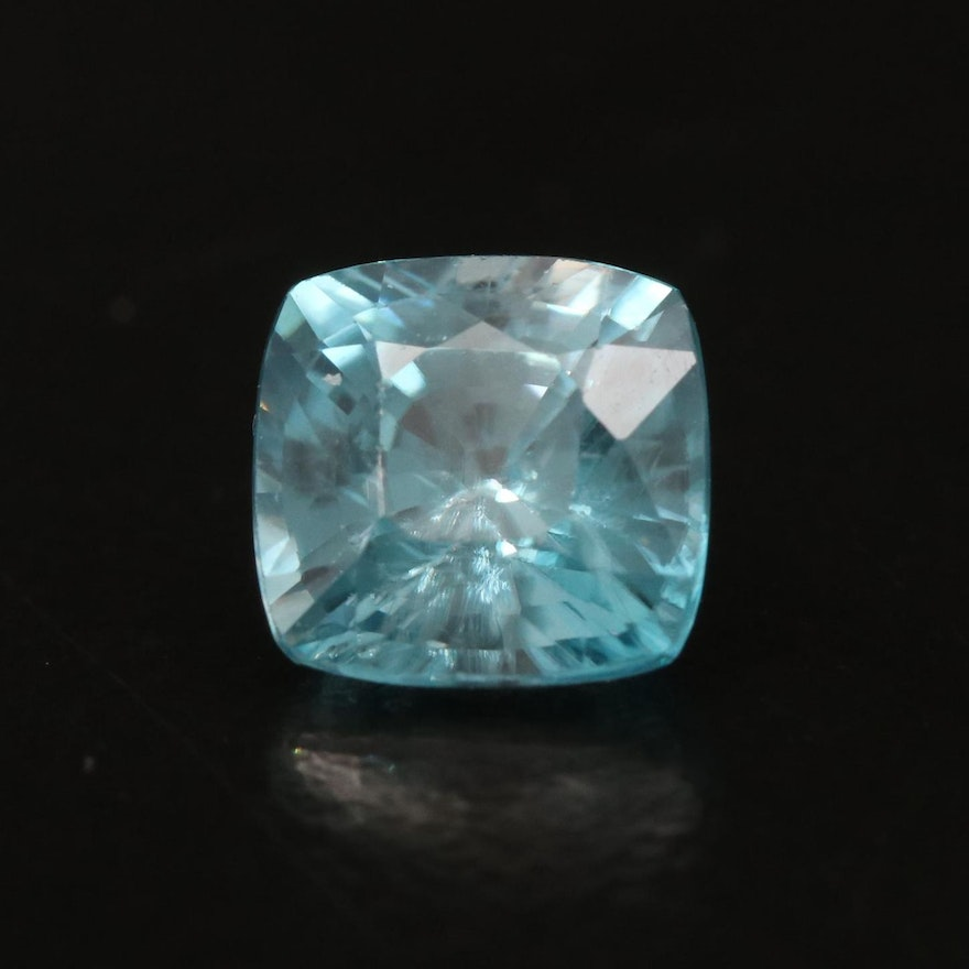 Loose 2.36 CT Square Faceted Zircon