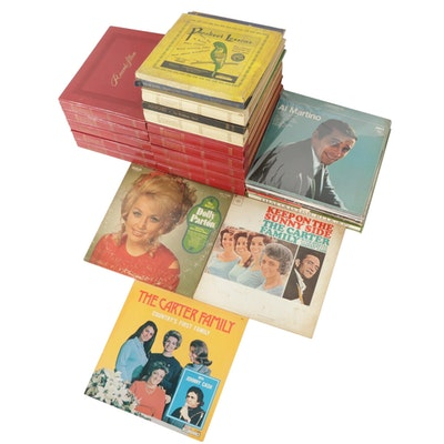 Dolly Parton, The Carter Family, Hank Williams and Other Records, Vintage