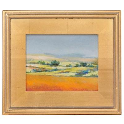 "Vova DeBak Landscape Oil Painting ""Spring,"" 2019"