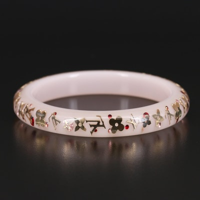 Louis Vuitton Resin Inclusion Bangle