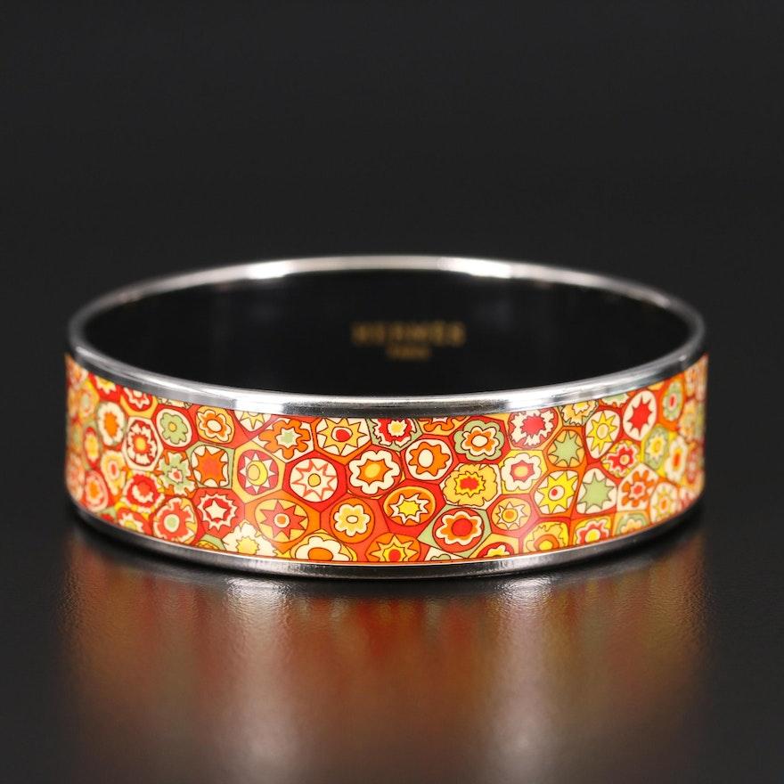 Hermès Enamel Bangle