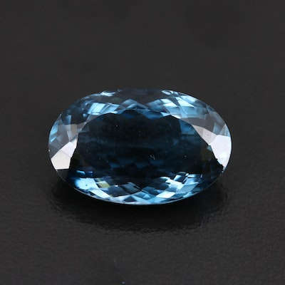 Loose 20.07 CT London Blue Topaz