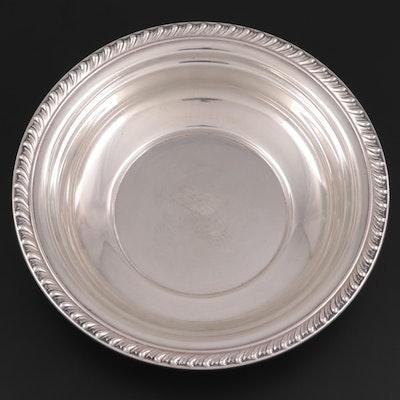 "Wallace ""Halifax"" Sterling Silver Round Vegetable Bowl"