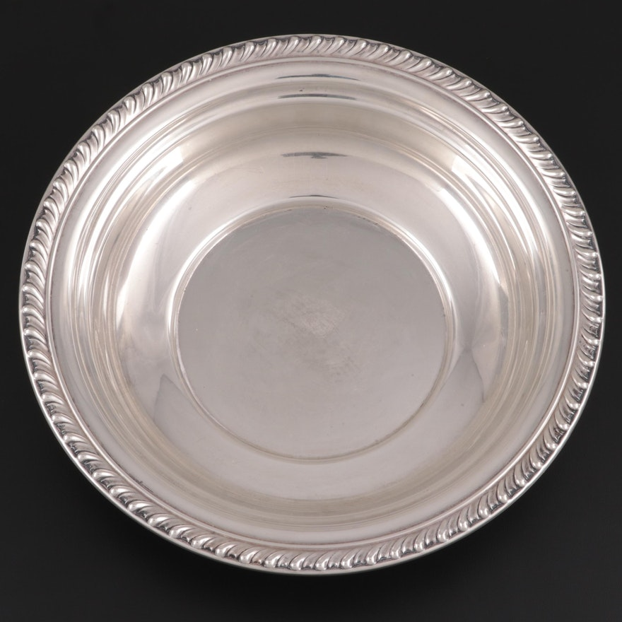 """Wallace """"Halifax"""" Sterling Silver Round Vegetable Bowl"""