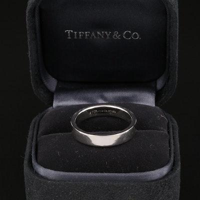 "Tiffany & Co. ""Essential"" Platinum Band"