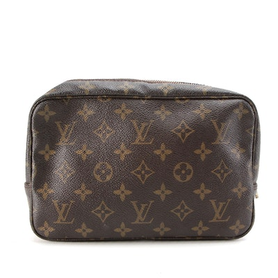 Louis Vuitton Trousse Toilette 23 Pouch in Monogram Canvas