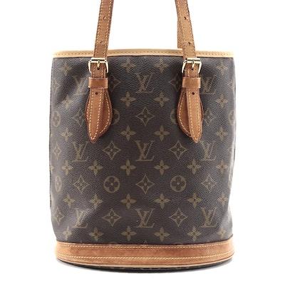 Louis Vuitton Bucket Bag PM in Monogram Canvas