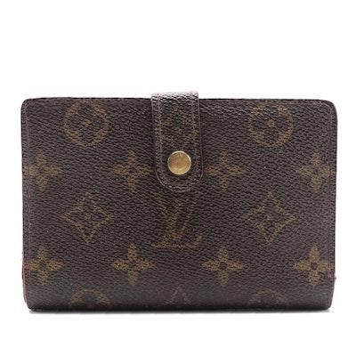 Louis Vuitton French Purse Wallet in Monogram Canvas