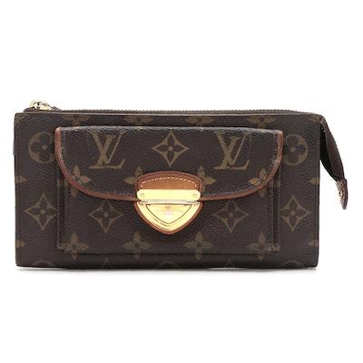 Louis Vuitton Astrid Push-Lock Wallet in Monogram Canvas