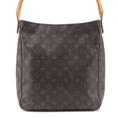 Louis Vuitton Looping GM in Monogram Canvas and Vachetta Leather