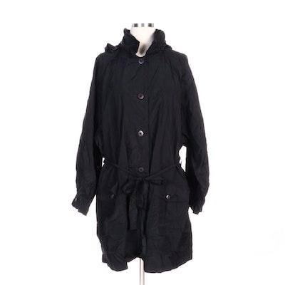 Sonia Rykiel Packable Raincoat in Black