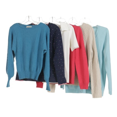 Talbots, Foxcroft, and Other Women's Sweaters